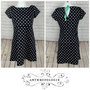 Anthropologie 9-H15 STCL Polka Dot Dress